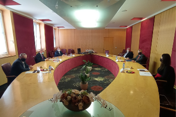 Visit of high-ranking state officials at the University of Dunaújváros